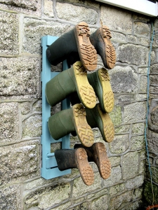 WinWellies Welly Rack