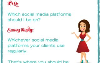 Sassy social marketing, social media